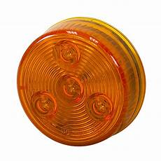 Amber Marker Lights 2 Quot 4 Led Amber Round Marker Light Dc Mobile Equipment