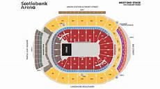 Gund Arena Seating Chart 3d Seating Maps Scotiabank Arena