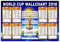 Day Chart 2018 Russia World Cup Wall Chart 2018 1 Day To Go Ebay