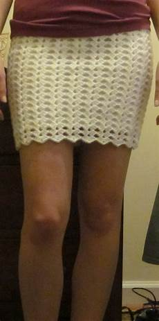 crochet skirt the crafty novice diy crochet lace skirt