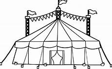 amusement circus tent coloring page wecoloringpage