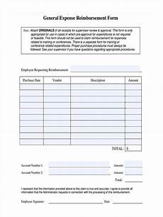 Generic Expense Reimbursement Form Free 20 Expense Reimbursement Forms In Pdf Ms Word Excel