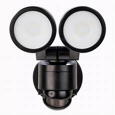 Defiant Lighting Defiant 180 Degree Black Motion Activated Outdoor