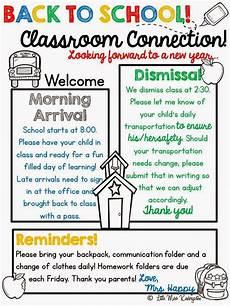 Meet The Teacher Newsletter Templates Meet The Teacher Preschool Newsletter Kindergarten