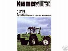 1972 Kramer Two Way Trac Type 1014 Tractorshed Com