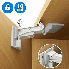 cabinet locks child safety pkpower 10 pack invisible baby