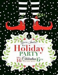 Free Evites For Holiday Party Christmas Party Invitation Template Christmas Party
