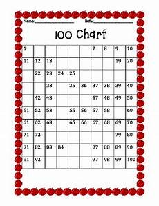 Fill In 100 Chart Fill In The Blank 100 Charts By J Parkhurst Teachers Pay
