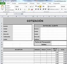 Formato Para Cotizacion En Word Formatos De Cotizaciones En Word Gratis Joy Studio