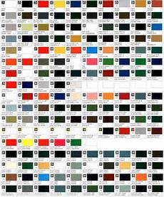 Mab Paint Color Chart Urban S Colour Reference Charts Gunze Sangyo Mr Color Map