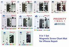 Iphone 5 Screw Size Chart Iphone 4 4s 5 5s 5c 6 6 6s 6s Magnetic Screw Chart Mat