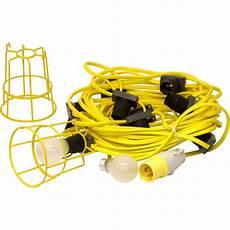 Festoon Lighting Kit 240v Festoon Lighting Set 110v 22m Bc Lamp 10 Holders Toolstation