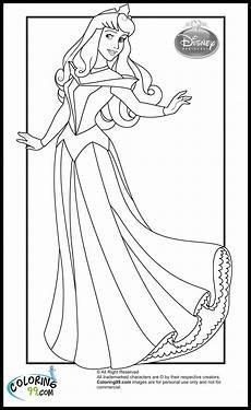 disney princess coloring pages team colors