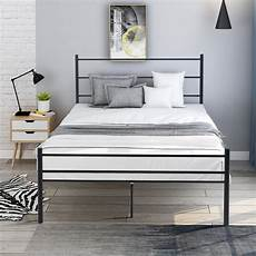 12 quot size metal bed frame heavy duty bed frame with