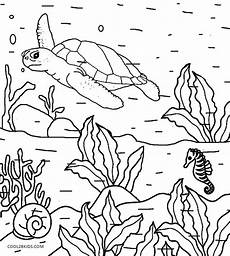 printable nature coloring pages for