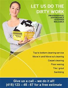Cleaning Services Advertising 14 Free Cleaning Flyer Templates House Or Business