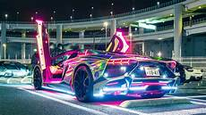 Cool Lights For Cars Neon Lights Lamborghini Hd Cars 4k Wallpapers Images