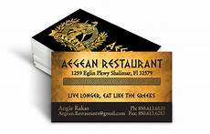 Restaurant Business Card Top 27 Restaurant Business Card Designs From Around The Web