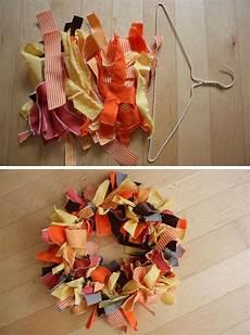 tricks treats autumn fabric wreath by elise blaha