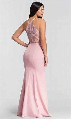 mermaid wedding guest dress with lace back