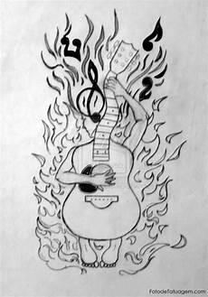 desenho tatuagens desenhos para tatuagem de guitarra foto de tatuagem