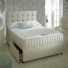divan bed set memory mattress headboard 3ft 4ft