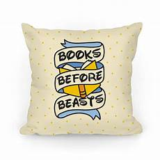 books before beasts pillows lookhuman pillows