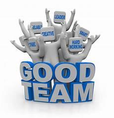 Good Team Leader Good Team People With Teamwork Qualities Stock