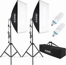 Continuous Lighting Equipment Esddi Softbox Photography Lighting Kit 800w Continuous