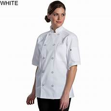 edwards mid weight sleeve ten button chef coat 3333