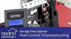 Garage Door Light Blinking Won T Open Garage Door Opener Doesn T Work Wall Control