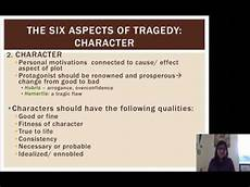Elements Of Greek Tragedy Greek Drama Aristotle S Aspects Of Tragedy Youtube