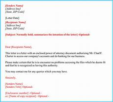 Power Of Attorney Letter Sample Authorization Power Of Attorney Authorization Letter How To Format It