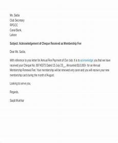 Payment Received Letter 11 Payment Acknowledgement Letter Templates Pdf Doc