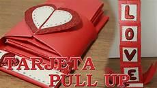 regalos 14 de febrero como hacer una tarjeta de san valentin push up 3d