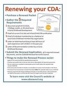 Sample Recommendation Letter For Cda Renewal Cda Renewal Flyer