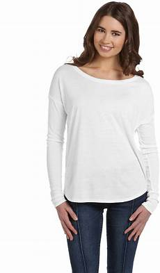 sleeve shirts canvas 174 flowy sleeve t shirt with 2x1
