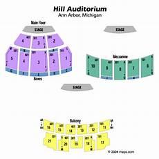 Seating Chart Hill Auditorium Arbor Hill Auditorium Seating Chart Hill Auditorium