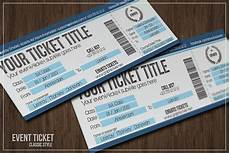 Create Event Tickets Free Multipurpose Simple Event Tickets Card Templates