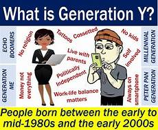 Generation Y Workforce Generation Y Definition And Meaning Market Business News