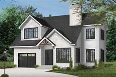 2 story house plan with upstairs bedrooms and laundry