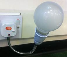 Wall Socket Light 300mm Flexible Plug Adjustable Spot Light Bulb Wall Socket