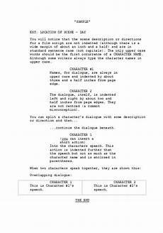 Sample Screenplay Formatting Scripts 4 Film John Mc The Writer