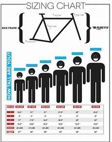 Bike Size Chart By Height 磊bike Size Chart How To Choose The Right Bicycle 3 Step