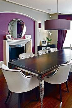 Purple Dining Room Chairs Purple Dining Room Ideas To Attract Your Family Members