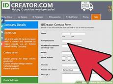 Make Id Badges Online Free How To Make Id Cards Online 12 Steps With Pictures