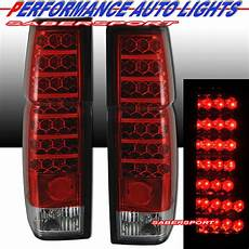 Nissan Led Lights Pair Red Clear Quot L E D Quot Type Led Lights For 86 97
