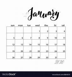 Free Printable Monthly Calendar 2020 Get Kid Friendly Monthly Calendars 2020 Calendar