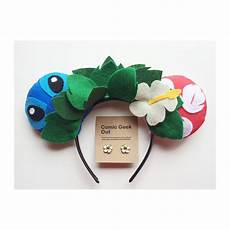 minnie ears lilo stitch themed by comicgeekout on etsy