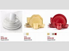 Food Network 16 or 40 Piece Dinnerware Sets Only $39.99